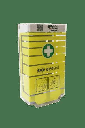 gul-øjenskyllestation-med piktogram-førstehjælp